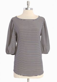 On the Wharf striped top via Ruche - so versatile