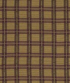 Robert Allen Plaidita Boysenberry Fabric -