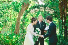 San Diego Botanical Garden Wedding, wedding in the walled garden, walled garden wedding, vintage wedding, botanical garden weddings