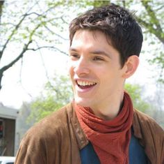 Colin Morgan as Merlin, for some reason hes so dorky hes hot! <<Yes! Exactly! Someone who understands!