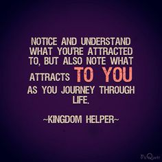 You'd be surprise at what you realize. Or maybe not.  #WakeUp #PayAttention #KingdomHelper