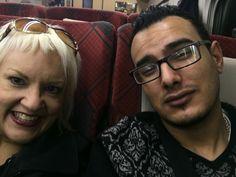 On the Shinkansen!