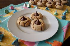 peanut butter blossom cookies | The Baking Fairy