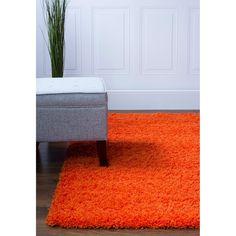 Shag Rug Orange High Quality Carpet Polypropylene  #rugs #decor #instahome #homedecor #floorcoverings #carpet #homeaccents #homedesign #myhome #floors