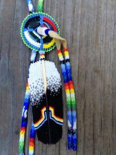 beadwork medallion | native-admerican-beaded-bolo.jpg