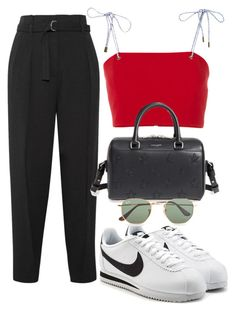 """Untitled #4012"" by camilae97 ❤ liked on Polyvore featuring 3.1 Phillip Lim, nk, Yves Saint Laurent, NIKE and Ray-Ban"