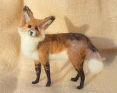 RESERVED FOR Jan Cassie the Red Fox Needle by TheWoolenWagon