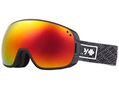 a65d6e322dce SPY Optic Bravo Knit Gray Snow Goggles MediumSized Ski Snowboard or  Snowmobile Goggle Two Lenses with