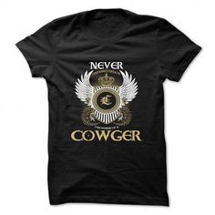 COWGER - #thank you gift #novio gift. SATISFACTION GUARANTEED => https://www.sunfrog.com/Camping/COWGER-85584537-Guys.html?68278
