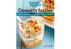 6 #recettes tirées du livre #Desserts faciles!