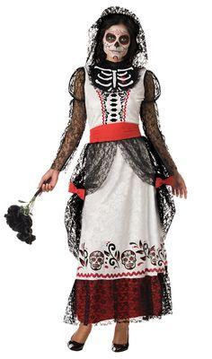 Skeleton Bride Adult Costume #Día de los Muertos #day of the dead #dia de muertos
