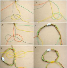 how to make scoobies with 3 strings step by step