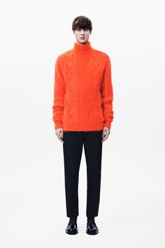 brushed cable Christopher Kane