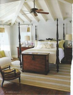 Bedroom idea. Four poster bed.