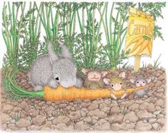"""Mudpie, Amanda and Monica"" from House-Mouse Designs®"