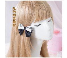 >> Click to Buy << Princess sweet lolita Hairpin Manual butterfly hairpin DIY homemade Ribbon Hair headdress exclusive original piano     GSH061 #Affiliate