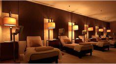 The Spa at Four Seasons Hong Kong Relaxation Room