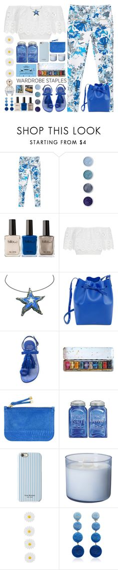 """""""Wardrobe staples"""" by doga1 ❤ liked on Polyvore featuring MANGO, Terre Mère, Miguelina, Mansur Gavriel, Polaroid, Stuart Weitzman, CASSETTE, H&M, Isaac Mizrahi and Accessorize"""
