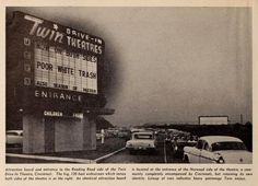Cincinnati ~ 1962 Drive In Movie Theater, Moving To California, Back In The Day, Play Houses, Historical Photos, Cincinnati, Old Photos, Over The Years, Kentucky