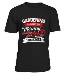 T shirt Gardening  Limited Edition front