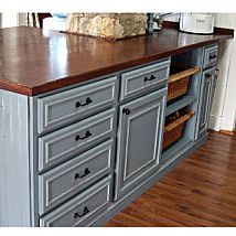 DIY:: 25 Ways to Update Your Cabinets on a Budget!
