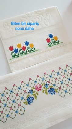 Bargello, Cross Stitch Patterns, Bullet Journal, Embroidery, Face Towel, Bath Linens, Cross Stitch Embroidery, Cross Stitch Art, Border Tiles