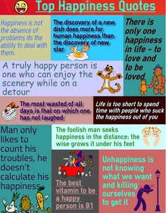 Happiness Quotes Infographics by Brain Quotes.  https://www.flickr.com/photos/prabakarant/20779917926  #quotes #brainquotes #happinessquotes