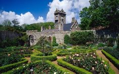 Isle of Sark - The Seigneurie, the mansion where the island's ruler lives
