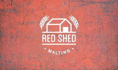 Red Shed Malting Brand Identity, Branding, Beer Brands, Home Brewing Beer, Newsletter Templates, Craft Beer, Brewery, My Design, Shed