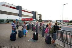 Holidaymakers travelling to Cyprus faced 'nightmare' flight delays after they were stuck for 18 hours leaving the UK and then another 17 hours coming home.