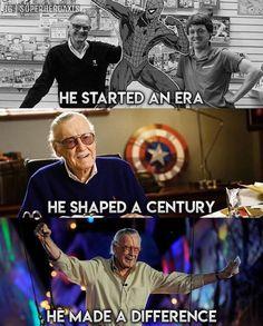 RIP Stan Lee your my hero excelsior Avengers Humor, Marvel Avengers, Marvel Comics, Marvel Jokes, Marvel Girls, Captain Marvel, Funny Marvel Memes, Dc Memes, Marvel Heroes