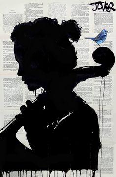 """"""" Loui Jover - The Cello Player """""""
