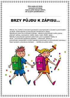 BRZY PŮJDU K ZÁPISU… Hana, Comics, Cartoons, Comic, Comics And Cartoons, Comic Books, Comic Book, Graphic Novels, Comic Art
