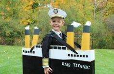 karnevalskostüme selbstgemachte kostüme kapitän von titanic