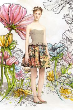 Red Valentino RTW Spring 2014 - Slideshow - Runway, Fashion Week, Reviews and Slideshows - WWD.com