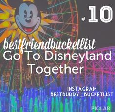 Follow bestbuddy_bucketlist on Instagram! #bestfriends #bff #bucketlist