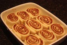 CINNAMON BUN GOODNESS | With Love, Meg Apple Pie, Cinnamon, Good Things, Desserts, Food, Canela, Tailgate Desserts, Meal, Dessert
