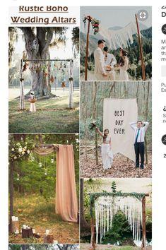 Wedding Altars, Folk, Rustic, Day, Mariage, Country Primitive, Popular, Fork, Farmhouse Style