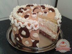 Karamell krémes Hungarian Cake, Hungarian Recipes, Tiramisu, Ethnic Recipes, Cakes, Food, Caramel, Cake Makers, Kuchen