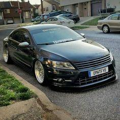 Volkswagen CC Vw Wagon, Volkswagen, Vw Cc, Black Audi, Classy Cars, Tuner Cars, Vw Passat, Custom Cars, Luxury Cars