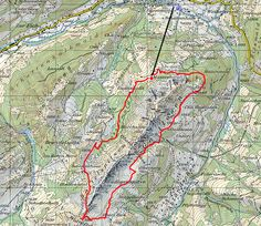 Tour des Gastlosen Tour, Map, Adventure, Landscape, Location Map, Maps