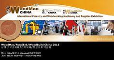 WoodMac/FurniTek/WoodBuild China 2013 상해 가구기자재/건축목재/목공기계 박람회
