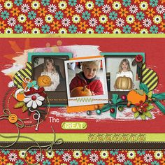 The Great Pumpkin Credits:  Template:  Empty Space Templates, Sus Designs; Kit:  Just Autumn (Full Kit), Jen Yurko,  Font Used: JI Pumpkins and DJB Play Misty for Me Available At:  http://scraptakeout.com/shoppe/Empty-Space-templates.html and http://scraptakeout.com/shoppe/Just-Autumn-Full-Kit.html