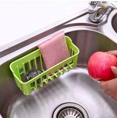 sink drain basket storage basket candy-colored cloth ball clean dish towel storage Kitchen Gadgets