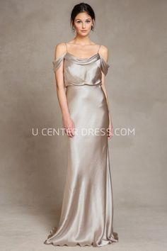 US$128.59-Sexy Sleeveless Spaghetti Satin Champagne Bridesmaid Dress With Open Back. http://www.ucenterdress.com/sleeveless-spaghetti-satin-bridesmaid-dress-with-low-v-back-pMK_101563.html. Shop for long dresses, designer dresses, casual dresses, occasion dresses, backless dresses, elegant dresses, black tie dresses, We have great 2016 fall bridesmaid dress for sale. Avialble in Gold, Yellow, Pink, Lavender Burgundy, Peach…#UCenterDress.com