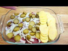 Recept na vynikajúcu večeru, veľmi rýchly a jednoduchý na prípravu # 275 - YouTube Pork Recipes, Bon Appetit, Cheese, Dinner, Easy, German, Food, Dining, Recipes