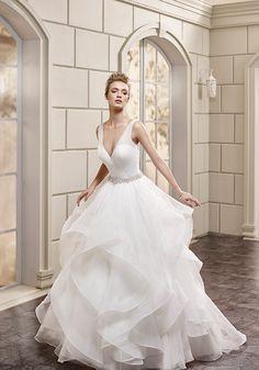 Eddy K. Wedding Gown AK150  #bride #bridal #gown