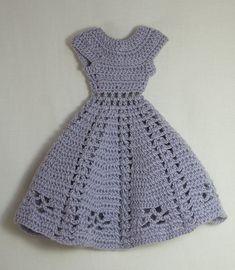 vintage crochet, dress