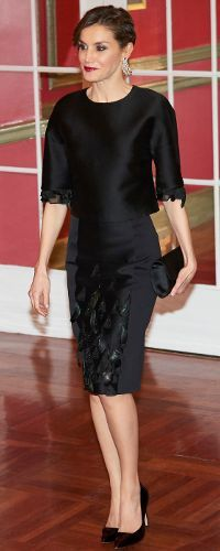 7 February 2017 - Queen Letizia attends 30th anniversary dinner for Expansión