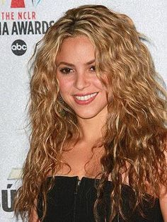 Naturally Curly Shakira is gorgeous